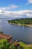 взгляд dumbarton замока Стоковая Фотография