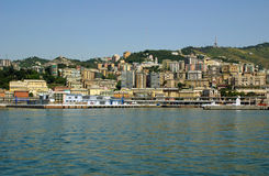 взгляд genoa Италии города Стоковые Изображения