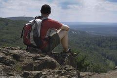 взгляд hiker s Стоковое Изображение