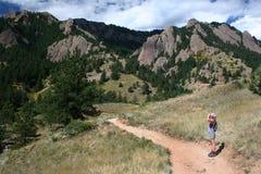 взгляд hikers Стоковое Фото