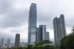 взгляд Hong Kong города Стоковая Фотография RF