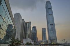 взгляд Hong Kong города Стоковое Изображение RF