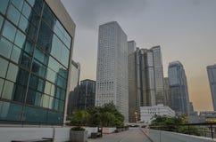 взгляд Hong Kong города Стоковые Фото