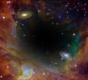 Взгляд Hubble иллюстрация вектора