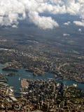 взгляд img Сиднея гавани 8320 антенн Стоковое фото RF