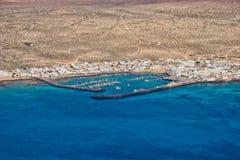 Взгляд Isla Graciosa Стоковые Изображения