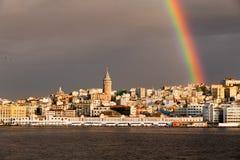 взгляд istanbul города Стоковое Фото