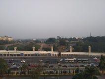 Взгляд Kolkata от города науки стоковые изображения rf