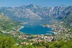 Взгляд Kotor, Черногории Стоковое Фото