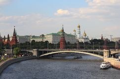 взгляд kremlin moscow Стоковое фото RF