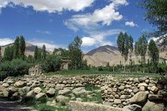 взгляд ladakh города Стоковая Фотография
