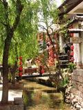 взгляд lijiang города Стоковые Изображения RF