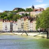 Взгляд Lyon, Франция Стоковые Фотографии RF