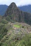 Взгляд Machu Picchu Перу стоковое изображение