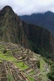 Взгляд Machu Picchu Перу стоковые изображения