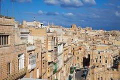 взгляд malta valletta стоковые фото