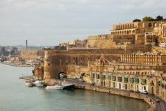 взгляд malta valletta стоковое фото rf