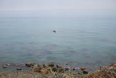 Взгляд Marinella di Selinunte стоковое фото rf