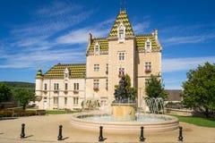 Взгляд Meursault, Франции стоковая фотография rf