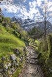 Взгляд Monte Resegone стоковые фотографии rf