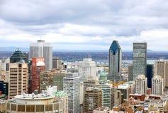взгляд montreal Стоковые Изображения