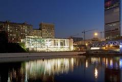 взгляд moscow города самомоднейший стоковое изображение rf