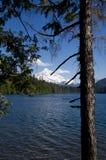 взгляд mt озера клобука потерянный Стоковые Изображения