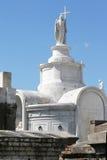 взгляд New Orleans кладбища Стоковое Изображение RF