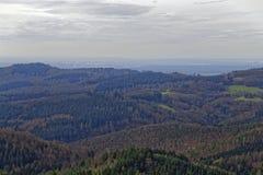 Взгляд Odenwald Стоковое Изображение RF