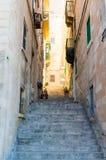 Взгляд oldtown Валлетты Стоковая Фотография RF