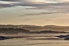 Взгляд oslofjord стоковая фотография rf