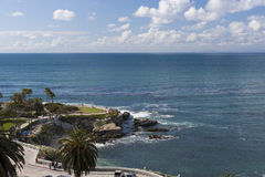 взгляд pacific океана свободного полета стоковые фотографии rf