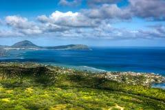 взгляд pacific океана стоковые изображения
