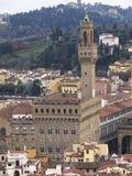 Взгляд Palazzo Vecchio Флоренс Стоковое Изображение