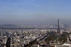 взгляд paris города стоковые фотографии rf