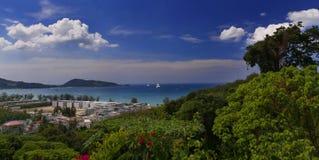 взгляд patong залива Стоковое Изображение
