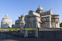 взгляд pisa аркады miracoli dei Стоковые Изображения RF