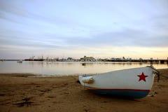 взгляд provincetown залива Стоковая Фотография RF