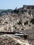 взгляд ragusa ibla Стоковые Фото