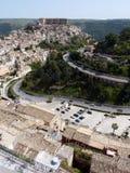 взгляд ragusa ibla Стоковое Фото