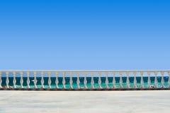 взгляд railing Стоковое Изображение