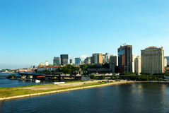 взгляд rio janeiro de города городской Стоковое фото RF