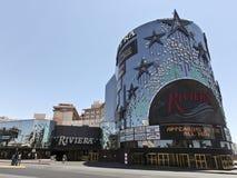 взгляд riviera гостиницы казино стоковая фотография rf
