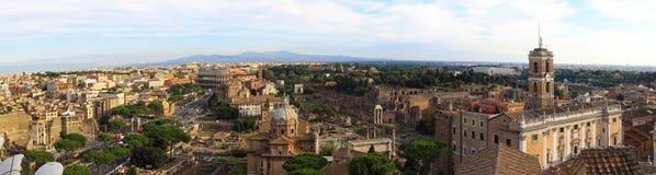 взгляд rome colosseum Стоковое фото RF