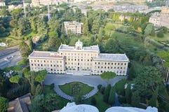 взгляд rome vatican резиденции Стоковые Фото