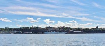Взгляд Södermalm в Стокгольме Стоковые Изображения