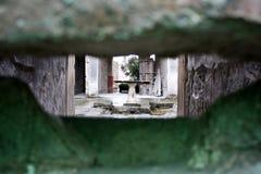 Взгляд ` s Помпеи античный Стоковые Фото
