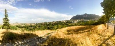взгляд san marino стоковое фото rf