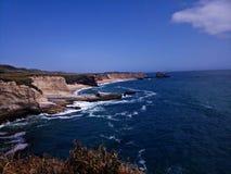 Взгляд Santa Cruz Калифорния пляжа стоковая фотография