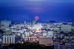 Взгляд scape города Стоковое фото RF